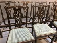 Set of 18th Century Mahogany Dining Chairs (4 of 21)