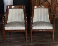 Splendid Pair of Empire Armchairs (2 of 19)