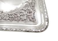 Antique Edwardian Sterling Silver Dressing  Tray  1905 (3 of 9)