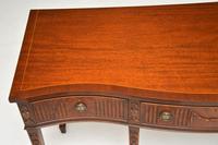Antique Sheraton Style Mahogany Server / Side Table (11 of 12)