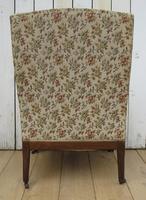 Antique Napoleon III High Back Armchair (6 of 8)