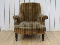 Antique Napoleon III Armchair for re-upholstery (2 of 8)