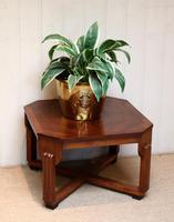 Low Walnut Art Deco Table (9 of 12)
