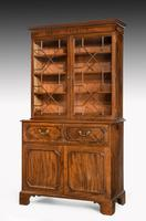George III Period Mahogany Secretaire Bookcase, Gillows of Lancaster Attributed (8 of 9)