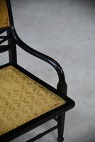 Victorian Ebonised Occasional Chair (7 of 9)