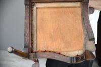 Antique Oak Corner Chair (9 of 12)