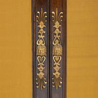 Pair of Regency Brass Inlaid Rosewood Side Cabinets (10 of 17)