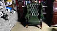 Leather Libary Chair (2 of 5)