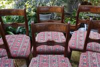 Good Set of Six Late Georgian Mahogany Dining Chairs (2 of 10)