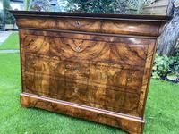 Burr walnut Louis Philippe commode (11 of 13)