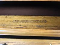 Large Victorian Oak Wellington Chest of Drawers by Shoolbred (6 of 13)