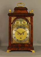 SuperiorMahogany Verge Repeating Bracket Clock - Eley, London (2 of 9)