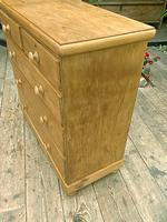 Superb & Large Old Pine Chest of Drawer / Sideboard (4 of 8)