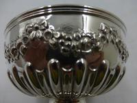 Antique Victorian Silver Bowl - London 1899 (5 of 6)