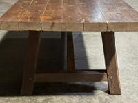 Huge Rustic French Oak Farmhouse Dining Table (8 of 35)