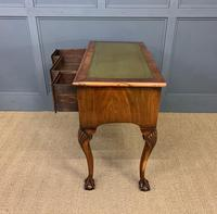 Queen Anne Style Burr Walnut Writing Table (9 of 12)