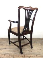 Pair of 19th Century Chippendale Style Armchairs (8 of 11)