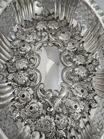 Victorian Antique Silver Dish or Bowl 1892 Elkington Sterling Silver Fruit Dish (8 of 9)