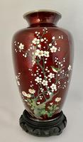 Japanese Gin Bari Cloisonne Vase. c.1920 (7 of 7)