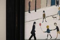 Naive Industrial Street Scene Oil on Board by Walker Scott (9 of 9)