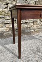 Antique Georgian Mahogany Fold Over Tea Table (4 of 27)