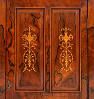 Victorian Rosewood Inlaid Side Cabinet (3 of 6)