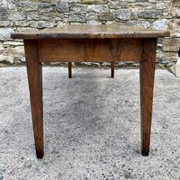 Large French Sycamore & Elm Farmhouse Table (12 of 21)