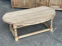 Bleached Oak Drop Flap Coffee Table (7 of 17)