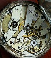 Antique .935 Silver Swiss Hallmarked Pocket Fob Watch c.1880 (8 of 8)