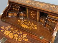 Early 19th Century Dutch Marquetry Bureau (2 of 13)