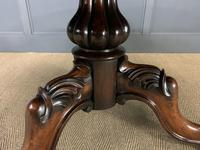 Victorian Round Rosewood Loo Table (14 of 17)