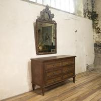 Louis XVI Period Original Painted Commode - Chest of Drawers (11 of 14)