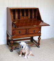 Solid Golden Oak Bureau (3 of 10)