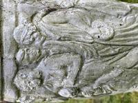 "Roman Style Stone Garden Bronze Floral Sundial ""Sunny Hour"" (28 of 30)"