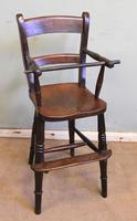 Antique Childs Windsor Highchair (3 of 12)
