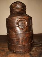 18th Century Iron Banded & Riveted Cream Can (4 of 13)