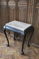 Antique Ebonised Occasional Table (4 of 5)