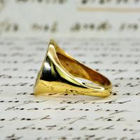 The Vintage 1987 Sunrise Diamond Signet Ring (5 of 7)