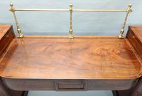 Georgian Figured Mahogany Pedestal Sideboard (2 of 14)