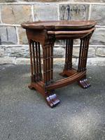 Antique Burr Walnut Nest of 4 Tables (7 of 8)