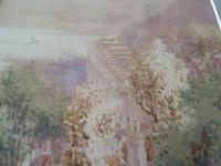 "Arthur White , St Ives School Watercolour "" Coast Scene "" 2 of 2 Listed (2 of 5)"