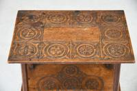 Small Oak Two Tier Table (9 of 16)