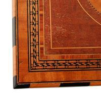 Mahogany & Satinwood Deed Box (7 of 8)