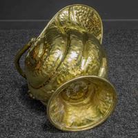 Late Victorian Brass Coal Helmet (7 of 14)