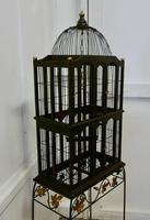 Wooden Canary Birdcage on Stand (5 of 6)
