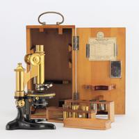 Antique Monocular Microscope by Ernst Leitz Wetzlar Retailed by Ogilvy & Co London c.1925 (3 of 15)