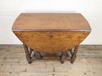 Early 20th Century Antique Oak Gateleg Table (3 of 8)