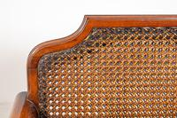 Good Quality Mahogany Bergere Suite (12 of 14)