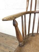 Antique Stick & Hoop Back Armchair (4 of 10)
