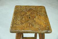 Liberty Carved Japanese Side Table (6 of 12)